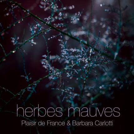 "Plaisir de France & Barbara Carlotti "" Herbes Mauves ""ep Pschent avril 2017"